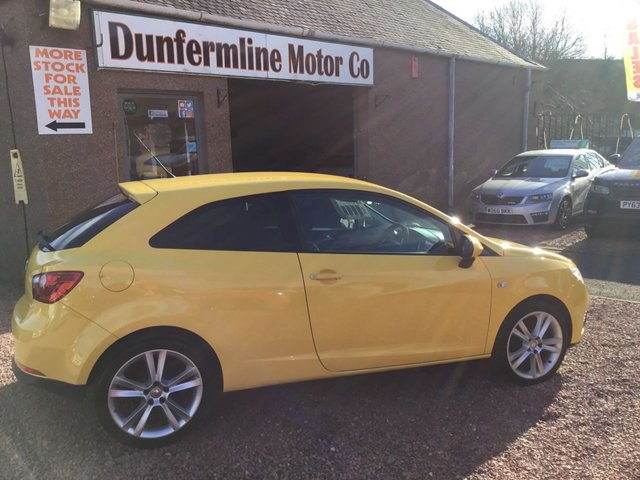 USED 2011 61 SEAT IBIZA 1.4 SPORT 3d 85 BHP ++LOW MILEAGE +9 SERVICE STAMP HISTORY++