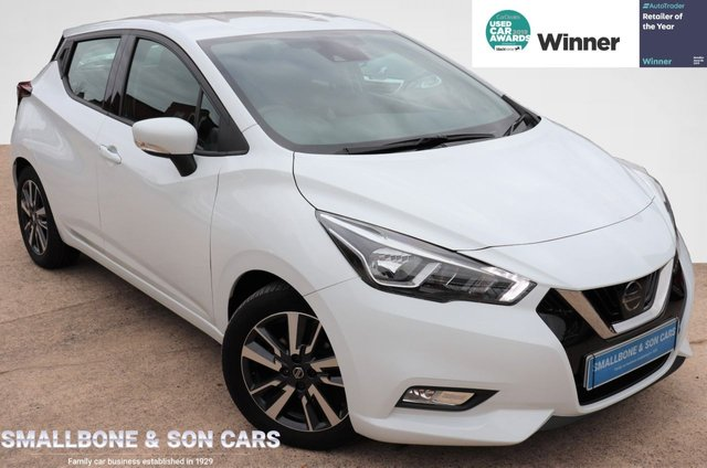 USED 2017 67 NISSAN MICRA 0.9 IG-T ACENTA 5d 89 BHP * BUY ONLINE * FREE NATIONWIDE DELIVERY *