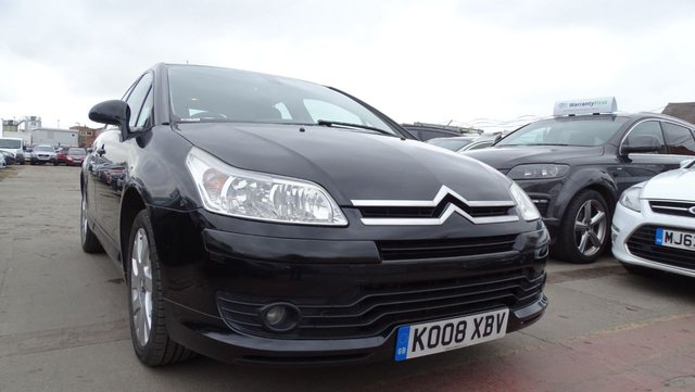USED 2008 08 CITROEN C4 1.6 VTR PLUS HDI 5d 108 BHP DRIVES A1
