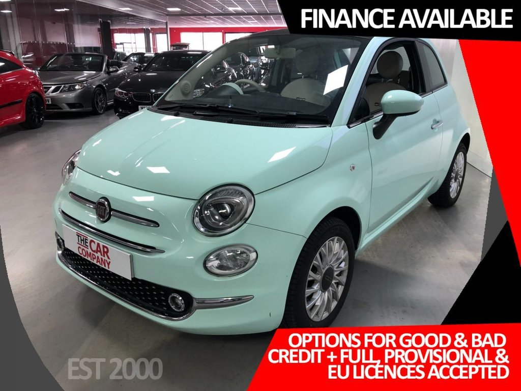 USED 2019 19 FIAT 500 1.2 LOUNGE 3d 69 BHP * ONLY 124 MILES *