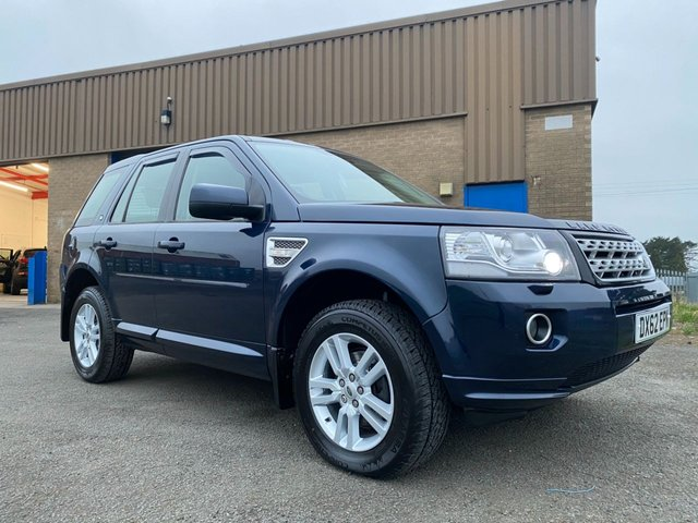 USED 2012 62 LAND ROVER FREELANDER 2.2 TD4 XS 4X4 VERY CLEAN WELL LOOKED AFTER FREELANDER