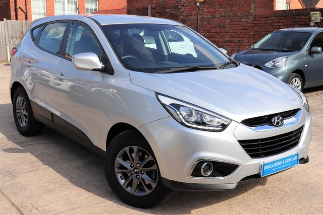 USED 2015 65 HYUNDAI IX35 1.6 GDI S BLUE DRIVE 5d 133 BHP * BUY ONLINE * FREE NATIONWIDE DELIVERY *