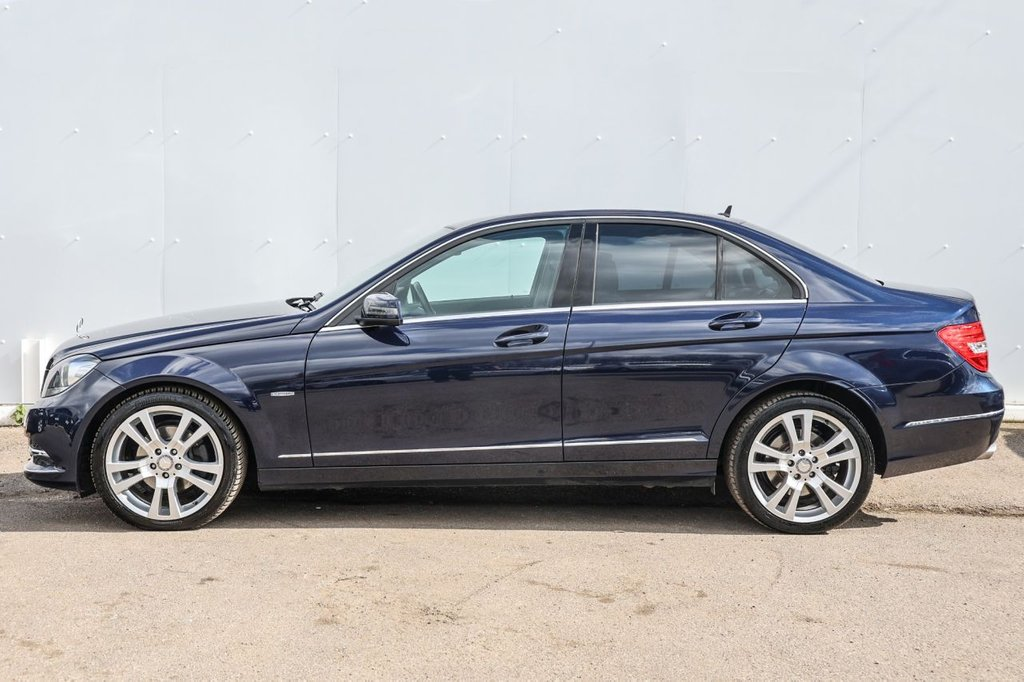 USED 2011 61 MERCEDES-BENZ C-CLASS 2.1 C250 CDI BLUEEFFICIENCY ELEGANCE 4d 202 BHP
