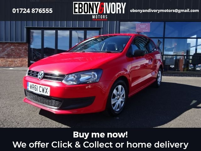 USED 2011 61 VOLKSWAGEN POLO 1.2 S 3d 60 BHP + FULL SERVICE HISTORY + 1 YEAR MOT AND BREAKDOWN COVER