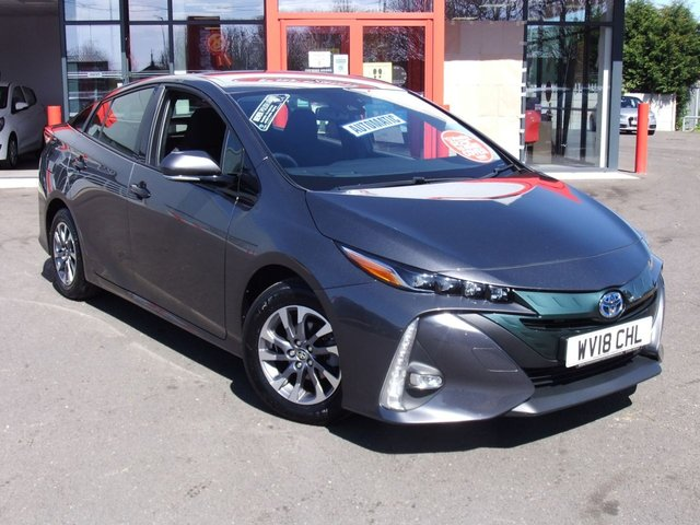 USED 2018 18 TOYOTA PRIUS 1.8 PHEV BUSINESS EDITION PLUS 5d 121 BHP Great Value Hybrid