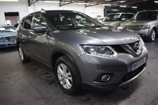 USED 2017 17 NISSAN X-TRAIL 1.6 DIG-T ACENTA 5d 163 BHP 7 SEATS STUNNING CONDITION THROUGHOUT - ONE OWNER FROM NEW - 7 SEATS - GLASS PANORAMIC GLASS ROOF - TOWBAR