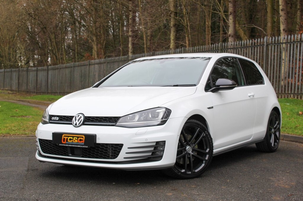 USED 2016 16 VOLKSWAGEN GOLF 2.0 GTD DSG 3d 182 BHP A STUNNING HIGH SPECIFICATION GTD WITH A FULL SERVICE HISTORY INCLUDING TIMING BELT!!!