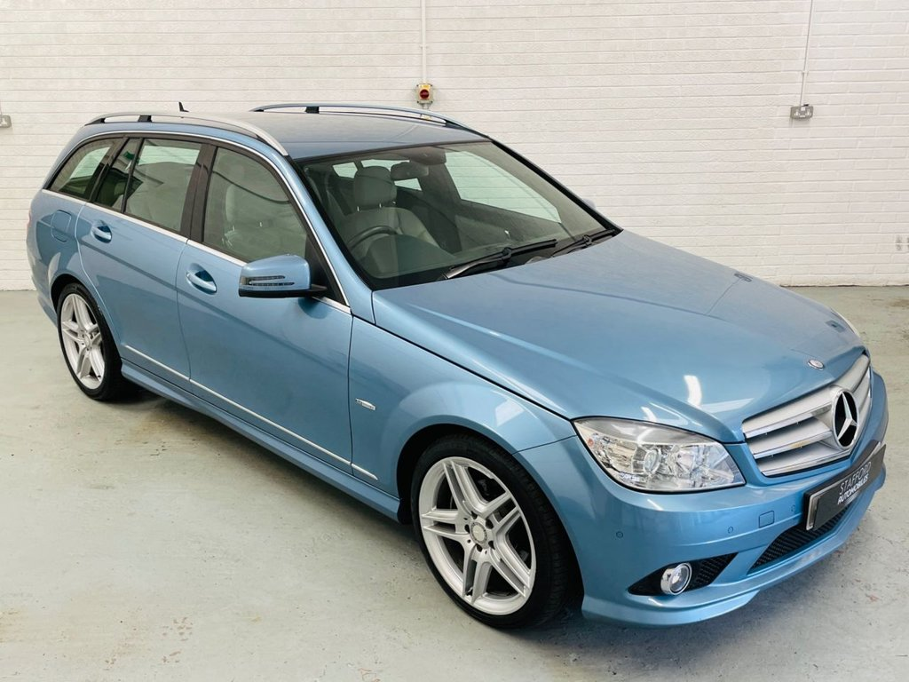 USED 2011 11 MERCEDES-BENZ C-CLASS 2.1 C220 CDI BLUEEFFICIENCY SPORT 5d 170 BHP 1 FORMER KEEPER FROM NEW, HEATED LEATHER, CRUISE, FINANCE AVAILABLE