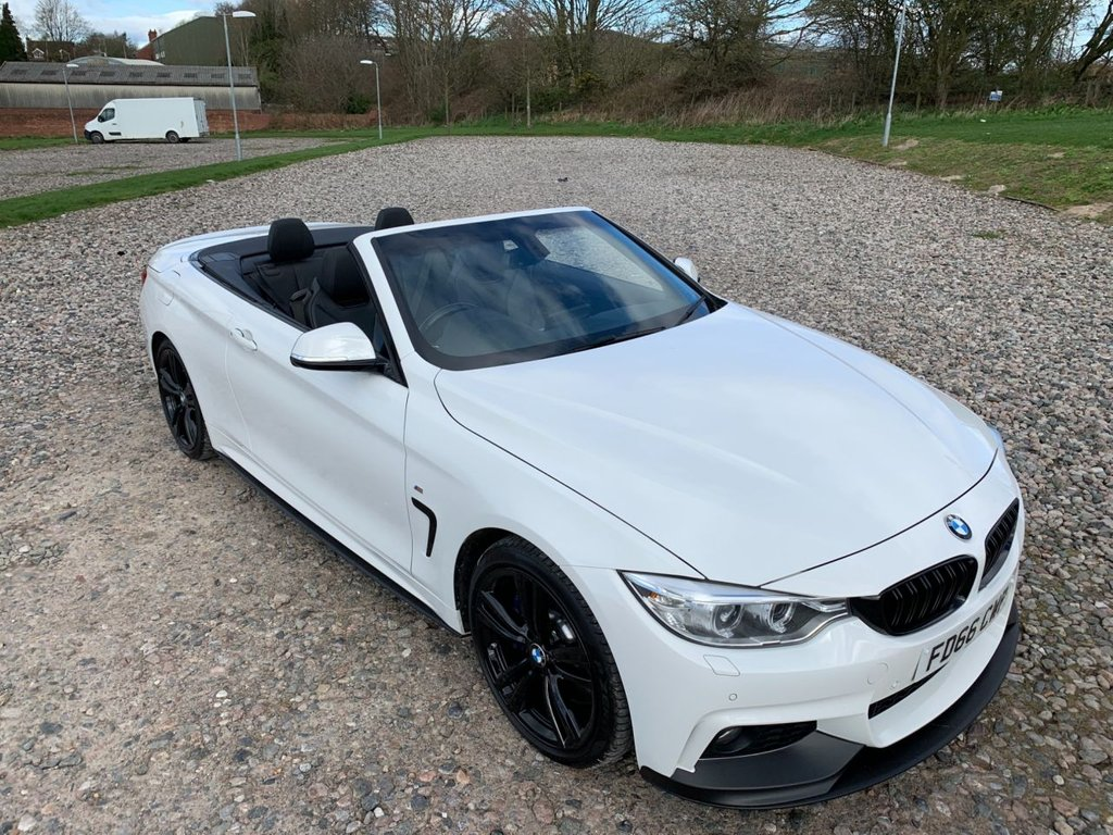 USED 2016 66 BMW 4 SERIES 3.0 440I M SPORT 2d 322 BHP Free Next  Day Nationwide  Delivery