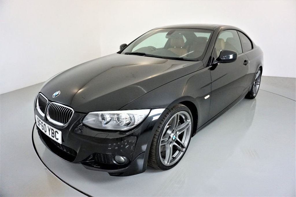 USED 2010 60 BMW 3 SERIES 3.0 335D M SPORT 2d AUTO 282 BHP-A REAL ONE OFF-UPGRADE 19
