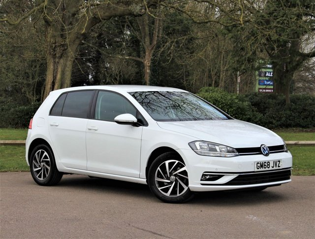 USED 2019 68 VOLKSWAGEN GOLF 1.6 MATCH TDI 5d 114 BHP £179 PCM With £1369 Deposit