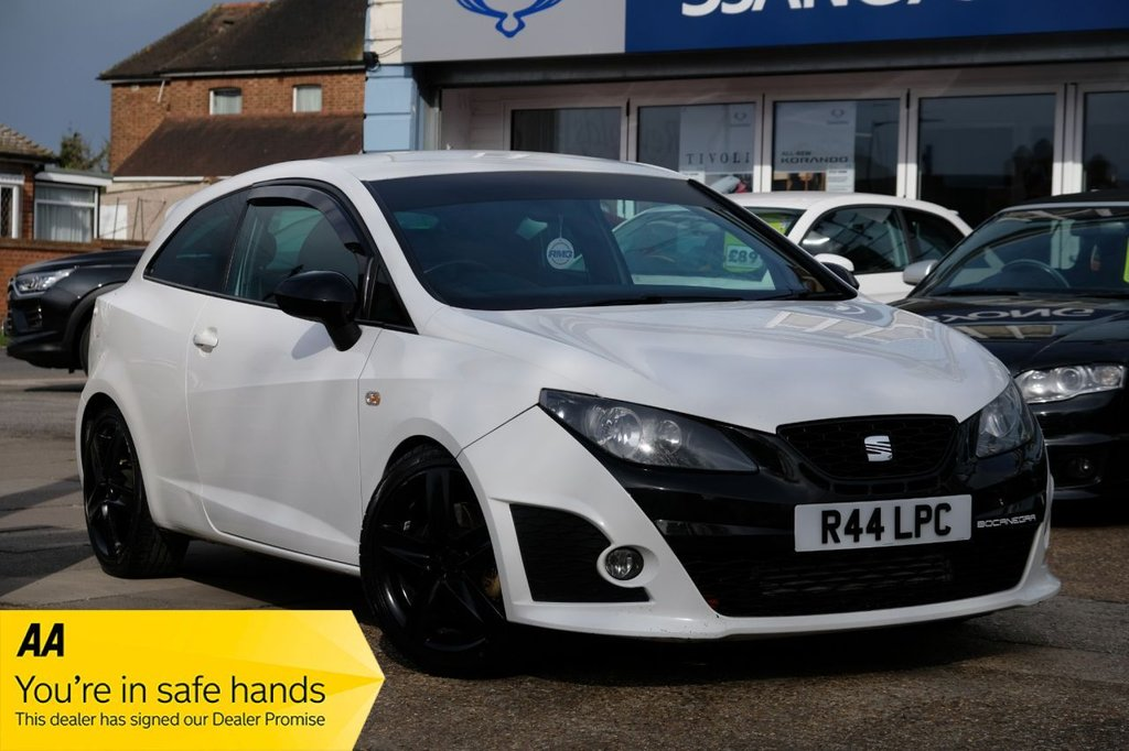 USED 2010 R SEAT IBIZA 1.4 TSI CUPRA BOCANEGRA DSG 3d 177 BHP AVAILABLE FOR £109 PER MONTH £0 DEPOSIT