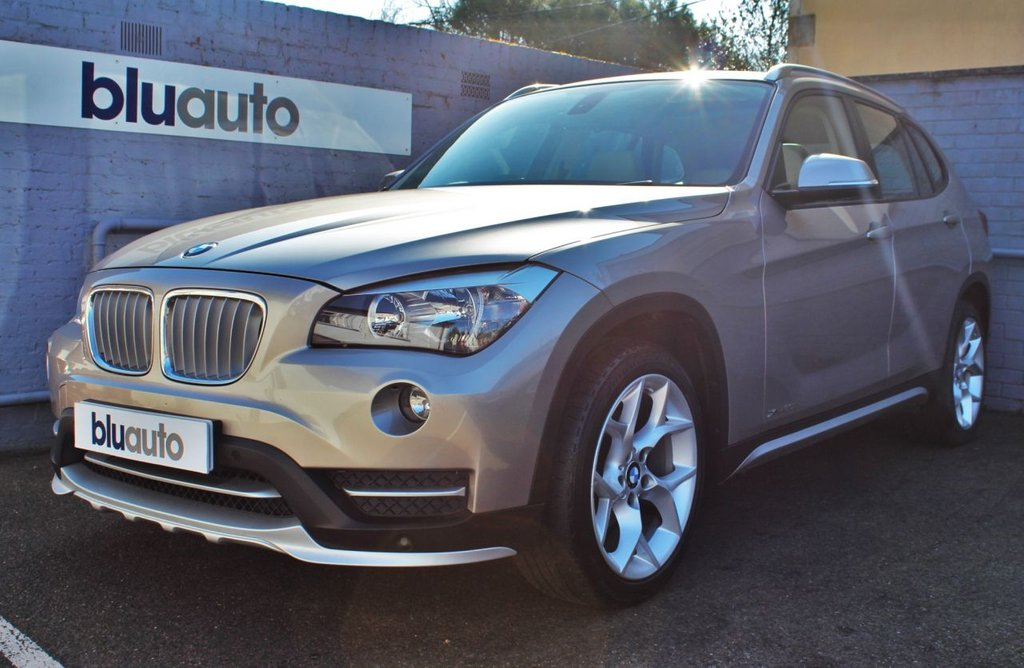 USED 2014 14 BMW X1 2.0 XDRIVE20I XLINE 5d 181 BHP OVer £3500 of extras, pan roof, parking sensors, sat nav, leather seats, voice command, cruise Control......