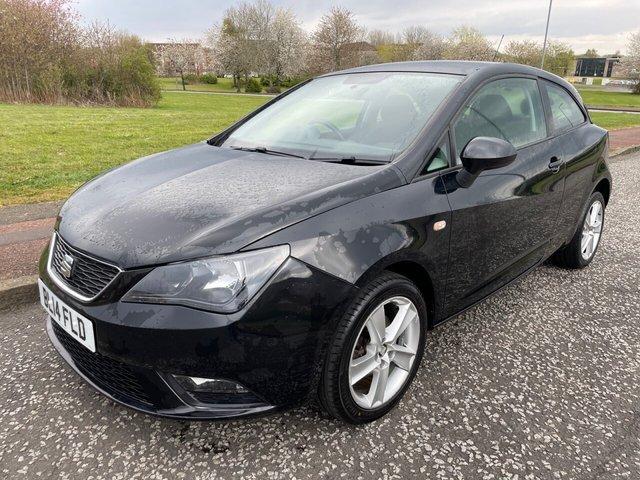 USED 2014 14 SEAT IBIZA 1.4 TOCA 3d 85 BHP Low Miles - Nav - Bluetooth - Long MOT - 2 Keys