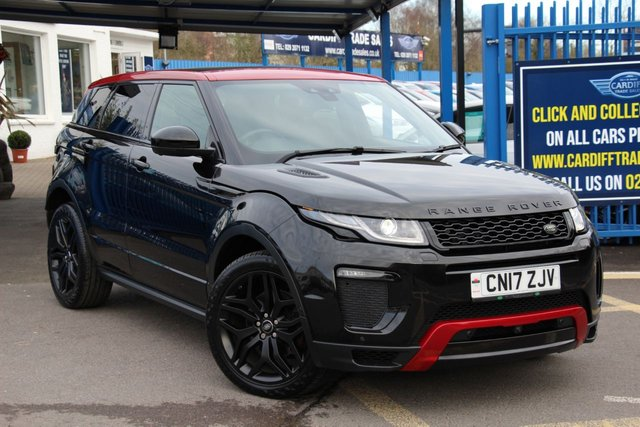 2017 17 LAND ROVER RANGE ROVER EVOQUE 2.0 TD4 EMBER SPECIAL EDITION 5d 177 BHP