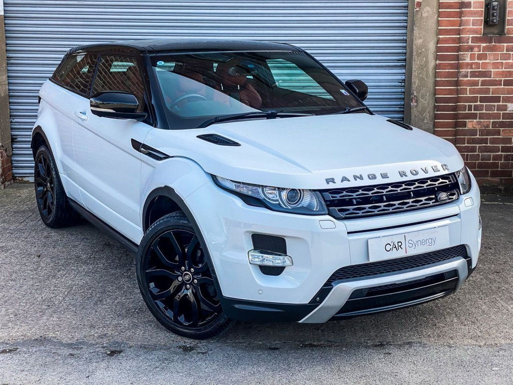 USED 2013 63 LAND ROVER RANGE ROVER EVOQUE 2.2 SD4 DYNAMIC LUX 3d 190 BHP