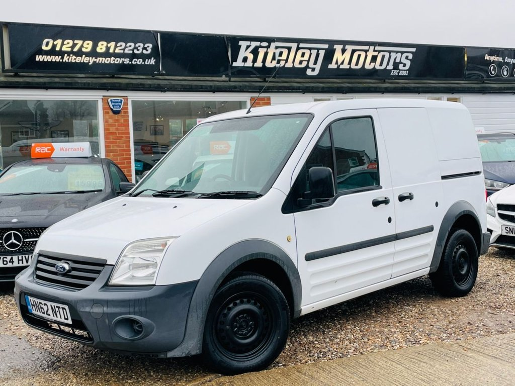 USED 2012 62 FORD TRANSIT CONNECT 1.8 T200 LR 74 BHP