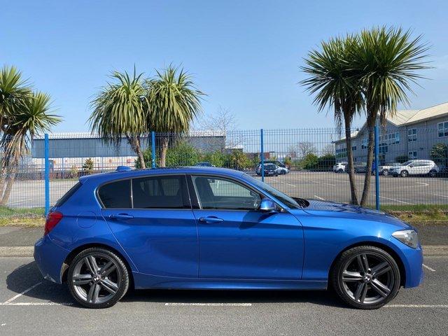 2012 12 BMW 1 SERIES 2.0 120D M SPORT 5d 181 BHP
