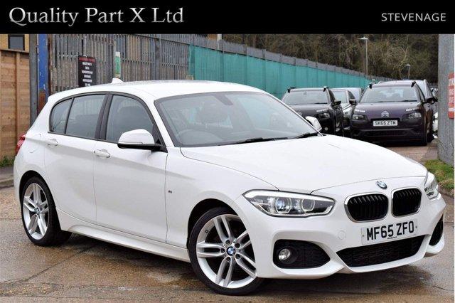 USED 2015 65 BMW 1 SERIES 1.5 116d M Sport (s/s) 5dr SATNAV,BLUETOOTH,LED,SENSORS