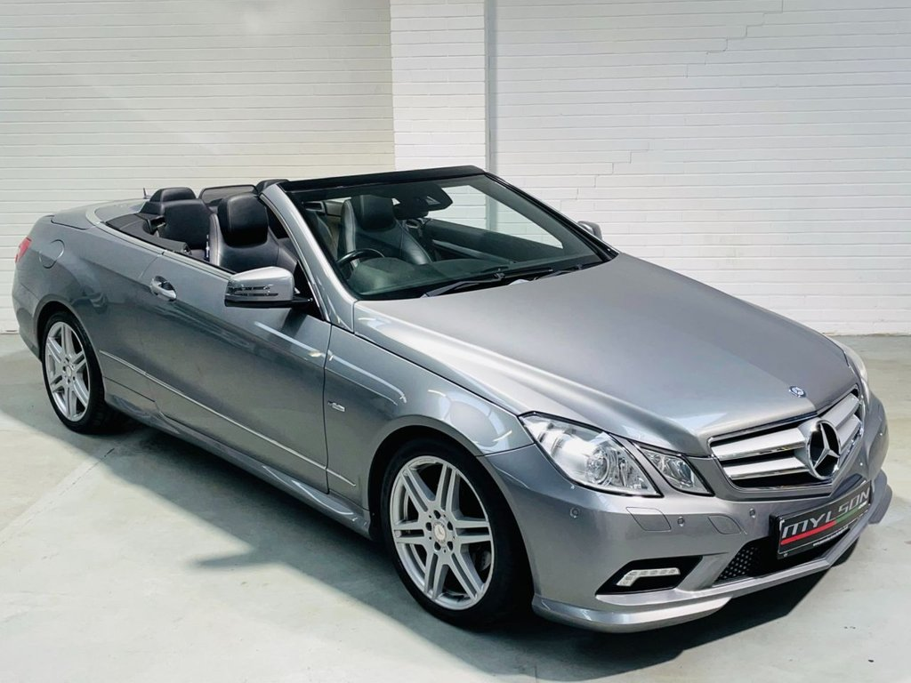 USED 2011 11 MERCEDES-BENZ E-CLASS 2.1 E220 CDI BLUEEFFICIENCY SPORT 2d 170 BHP Low Mileage, AA Inspected, Heated Leather + Airscarf