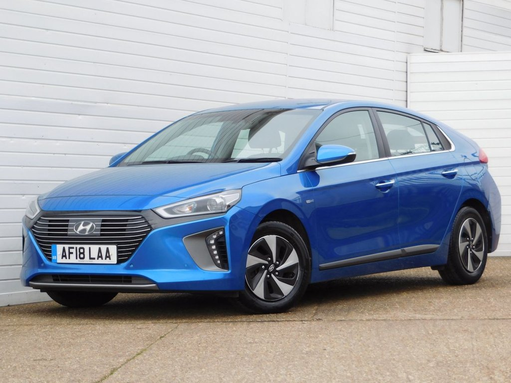 USED 2018 18 HYUNDAI IONIQ 1.6 PREMIUM SE 5d Buy Online Moneyback Guarantee
