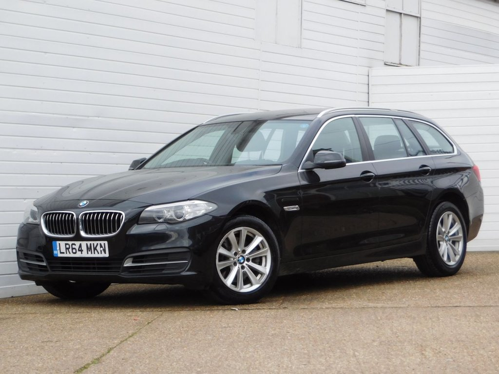USED 2014 64 BMW 5 SERIES 2.0 520D SE TOURING 5d 188 BHP Buy Online Moneyback Guarantee
