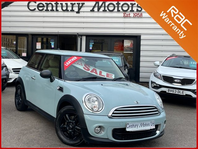 2013 63 MINI HATCH ONE 1.6 ONE D 3dr - FULL LEATHER