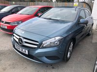 USED 2014 14 MERCEDES-BENZ A-CLASS 1.8 A200 CDI BLUEEFFICIENCY SPORT 5d 5 Seat Family Hatchback 1 Former Keeper