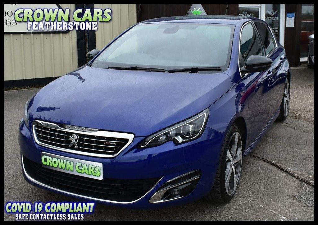 USED 2017 17 PEUGEOT 308 1.6 BlueHDi GT Line (s/s) 5dr AMAZING SPECIFICATION