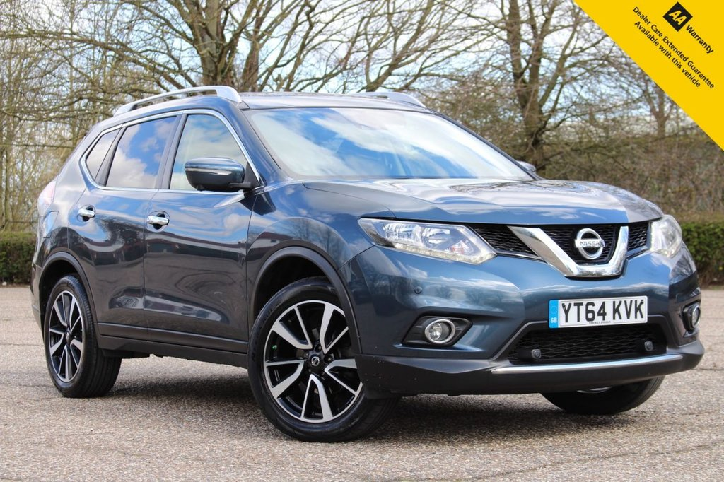 USED 2014 64 NISSAN X-TRAIL 1.6 DCI N-TEC 5d 130 BHP ** FULL SERVICE HISTORY ** LONG MOT FEB 2022 ** SAT NAV ** GLASS TILT AND SLIDE SUNROOF  ** FRONT AND REAR PARKING CAMERA + SENSORS ** CRUISE CONTROL ** CLIMATE CONTROL ** BLUETOOTH ** AUTO LIGHTS ** POWER TAILGATE ** CLICK & COLLECT + NATIONWIDE DELIVERY AVAILABLE ** BUY ONLINE IN CONFIDENCE FROM A MULTI AWARD WINNING 5* RATED DEALER **