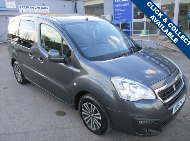 USED 2018 67 PEUGEOT PARTNER 1.6 BLUE HDI S/S TEPEE ACTIVE 5d 98 BHP
