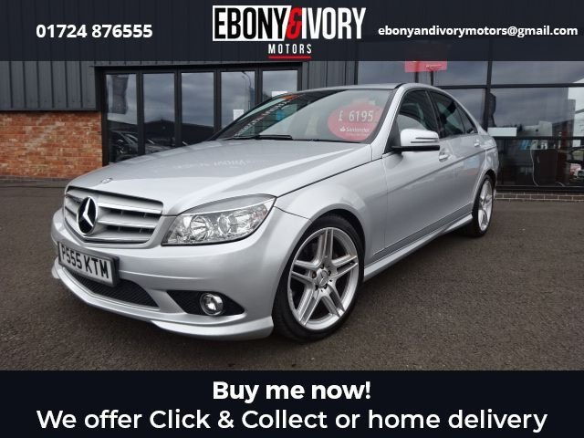 USED 2009 P MERCEDES-BENZ C-CLASS 3.0 C320 CDI SPORT 4d 222 BHP EXCELLENT EXAMPLE+FULLY SERVICED+1 YEAR MOT+BREAKDOWN COVER