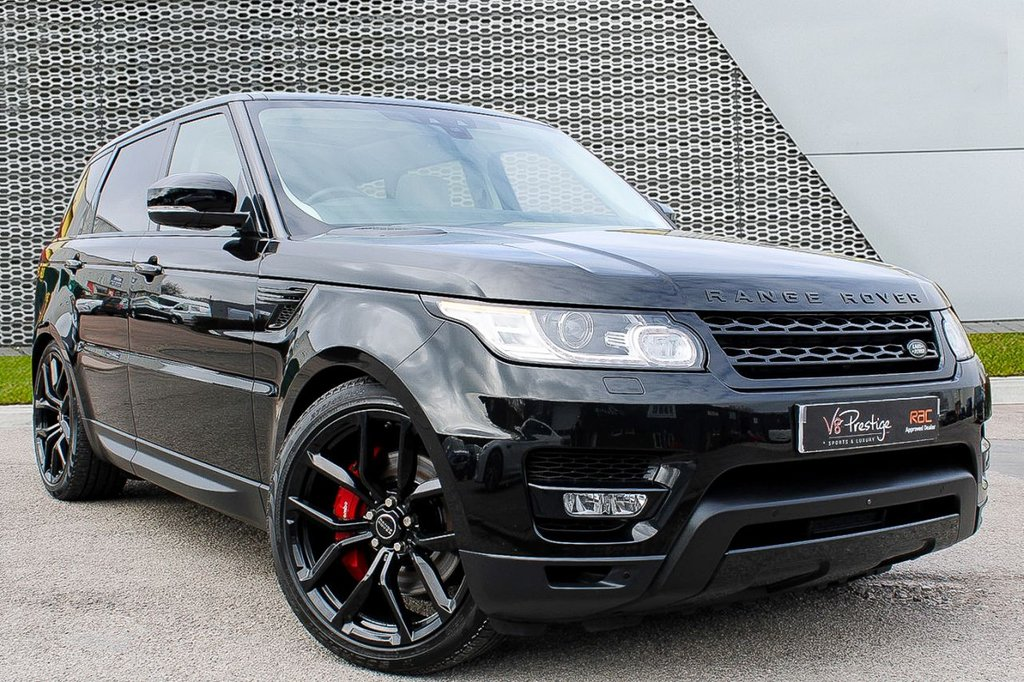 """USED 2017 17 LAND ROVER RANGE ROVER SPORT 3.0 SDV6 HSE DYNAMIC 5d 306 BHP **V-DISPLAY/22"""" ALLOYS/PAN ROOF**"""