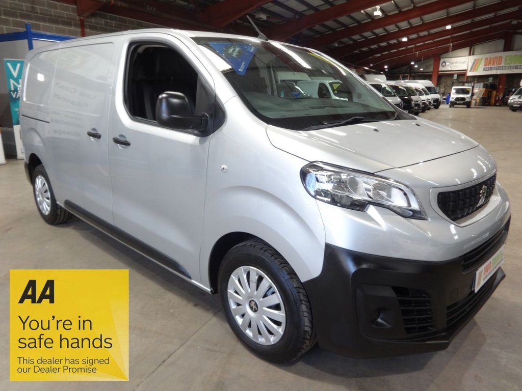 USED 2019 19 PEUGEOT EXPERT 2.0 BLUE HDI PROFESSIONAL STANDARD 120 BHP MWB VAN - AA DEALER PROMISE - TRADING STANDARDS APPROVED -