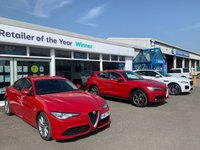 USED 2017 17 ALFA ROMEO GIULIA 2.1 TD SPECIALE 4d 5 Seat Sports Performance Saloon AUTO Stunning in Alfa Red with Heated Black Leather Seats 18
