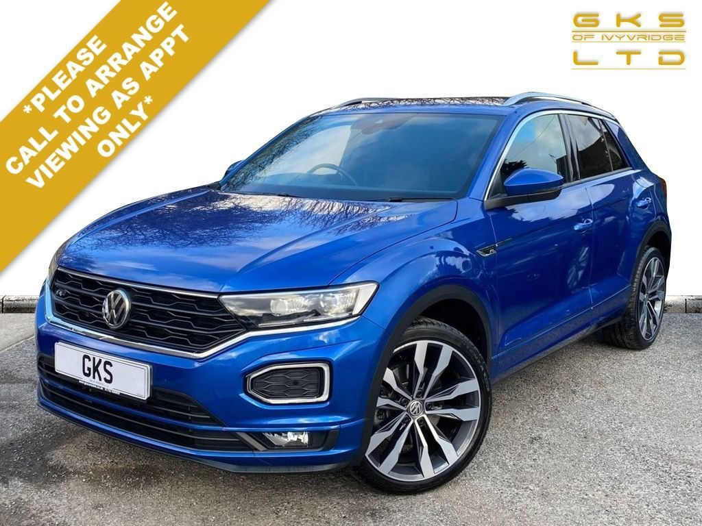 USED 2019 69 VOLKSWAGEN T-ROC 2.0 R-LINE TDI DSG 5d 148 BHP ** NATIONWIDE DELIVERY AVAILABLE **