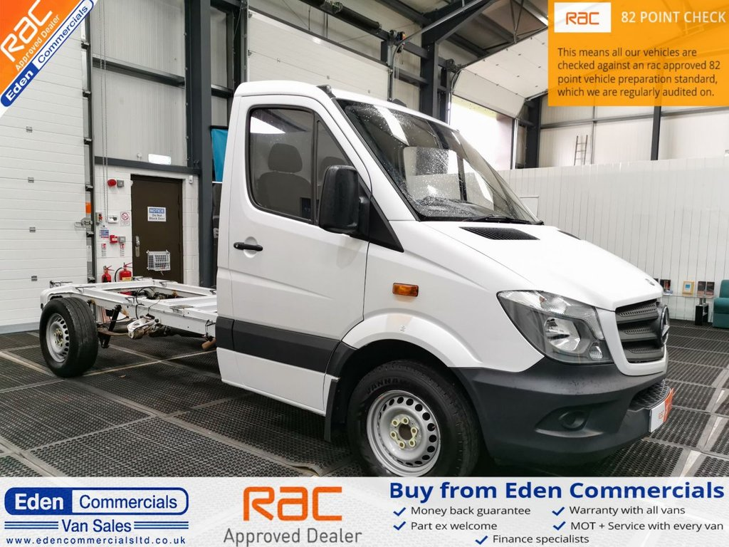USED 2015 15 MERCEDES-BENZ SPRINTER 2.1 313 CDI TL7 BUS * CHASSIS CAB *