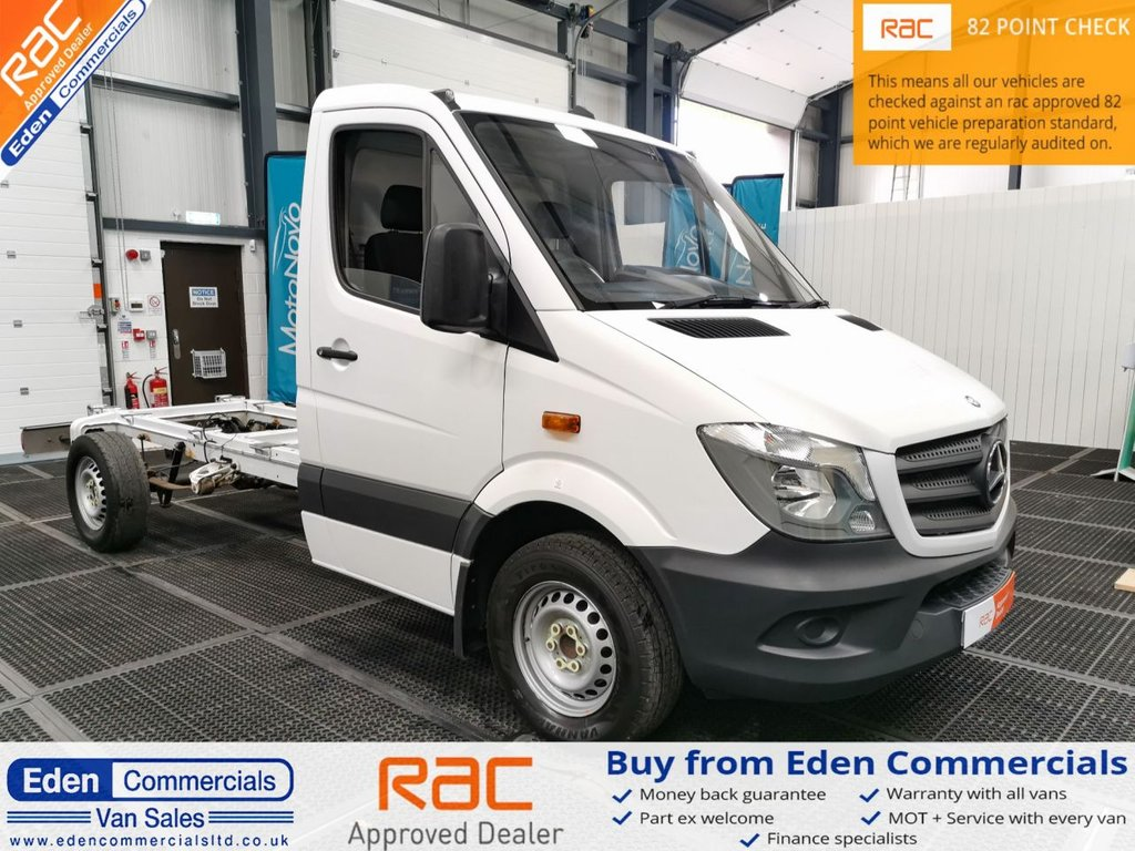 USED 2015 15 MERCEDES-BENZ SPRINTER 2.1 313 CDI * CHASSIS CAB *