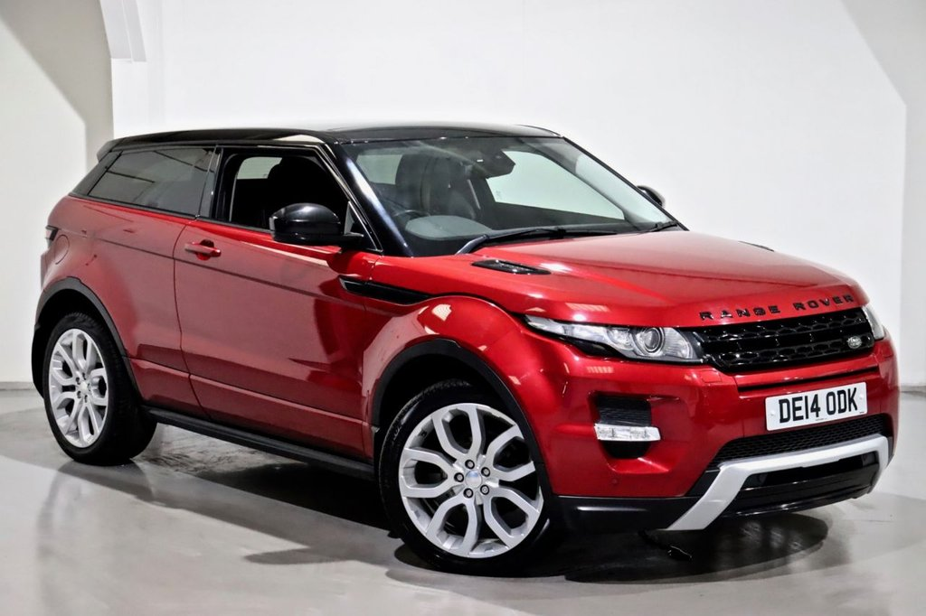 USED 2014 14 LAND ROVER RANGE ROVER EVOQUE 2.2 SD4 DYNAMIC 3d 190 BHP