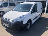USED 2018 68 CITROEN BERLINGO 1.6 850 ENTERPRISE L1 BLUEHDI 3 Seat Panel Van with No VAT TO PAY Recent Service & MOT 2 New Tyres & New Battery ULEZ Compliant Ready to Finance and Drive Away Today 1 Former Keeper