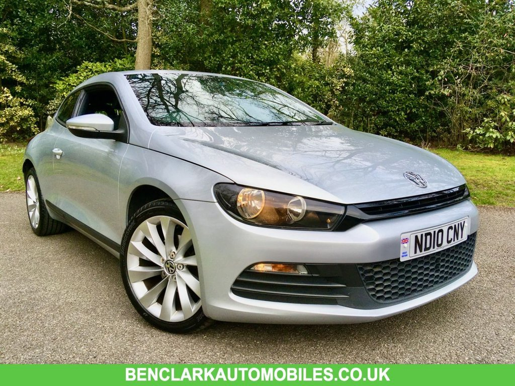 USED 2010 10 VOLKSWAGEN SCIROCCO 1.4 TSI 3d 121 BHP 1 PRIVATE OWNER // X10 VW SERVICE STAMPS 1 PRIVATE OWNER ///  BEAUTIFULLY KEPT INSIDE AND OUT /// LAST SERVICED @58,788 MILES