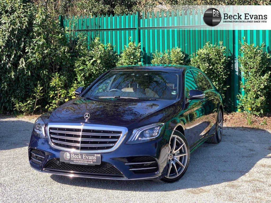 USED 2019 68 MERCEDES-BENZ S-CLASS 3.0 S 450 L AMG LINE 4d 363 BHP