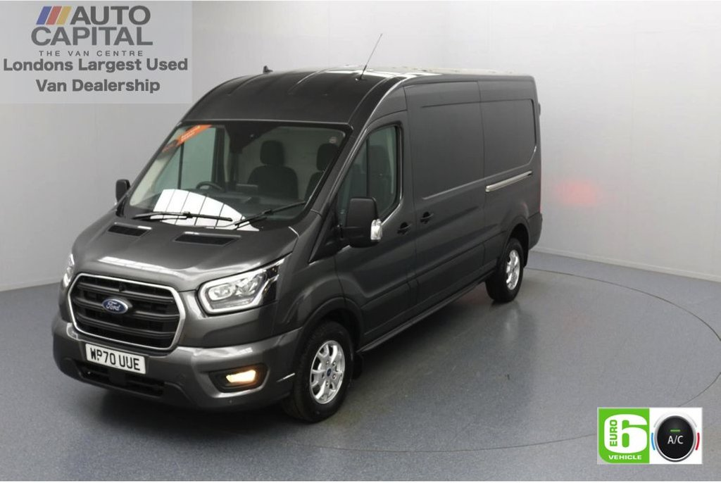 USED 2020 70 FORD TRANSIT 2.0 350 FWD Limited EcoBlue Auto 185 BHP L3 H2 Low Emission Automatic | AppLink | Ford SYNC 3 | Apple CarPlay | Eco | Air Con | Start/Stop | F-R Sensors