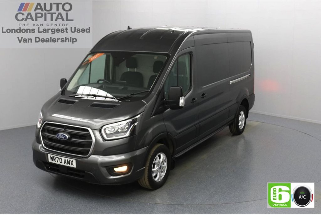 USED 2020 70 FORD TRANSIT 2.0 350 FWD Limited EcoBlue Auto 130 BHP L3 H2 Low Emission Automatic Gearbox | Front and rear parking distance sensors | Alloy wheels