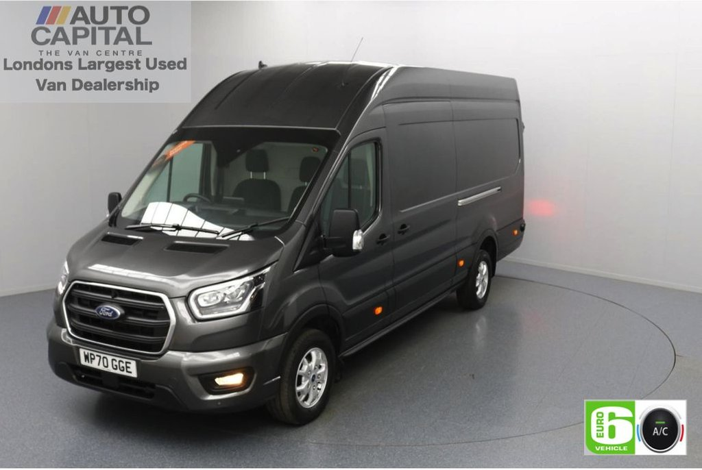 USED 2020 70 FORD TRANSIT 2.0 350 RWD Limited EcoBlue 185 BHP L4 H3 Low Emission AppLink | Ford SYNC 3 | Apple CarPlay | Eco | Air Con | Start/Stop | F-R Sensors