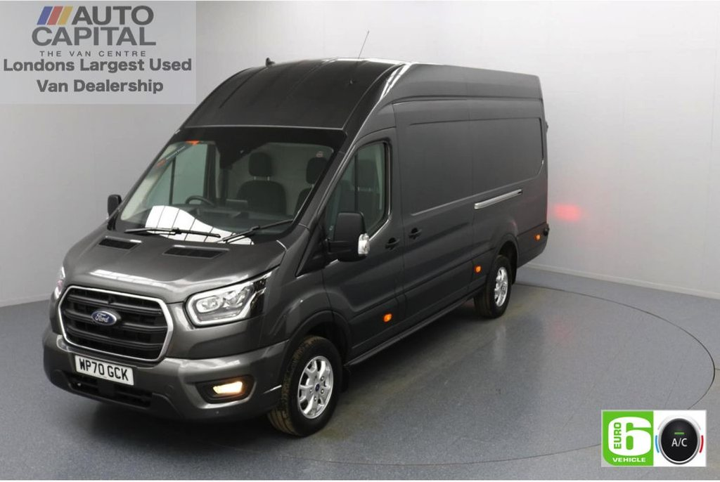 USED 2020 70 FORD TRANSIT 2.0 350 RWD Limited EcoBlue 185 BHP L4 H3 Low Emission AppLink   Ford SYNC 3   Apple CarPlay   Eco   Air Con   Start/Stop   F-R Sensors