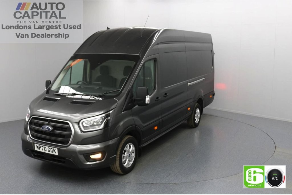 USED 2020 70 FORD TRANSIT 2.0 350 RWD Limited EcoBlue 185 BHP L4 H3 Low Emission Eco Mode   Auto Start-Stop   Front and rear parking distance sensors   Alloy wheels