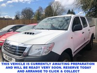 USED 2014 63 TOYOTA HI-LUX 2.5 HL2 4X4 D-4D 4 dr 5 Seat Double Cab Pickup  The perfect works Pick-up