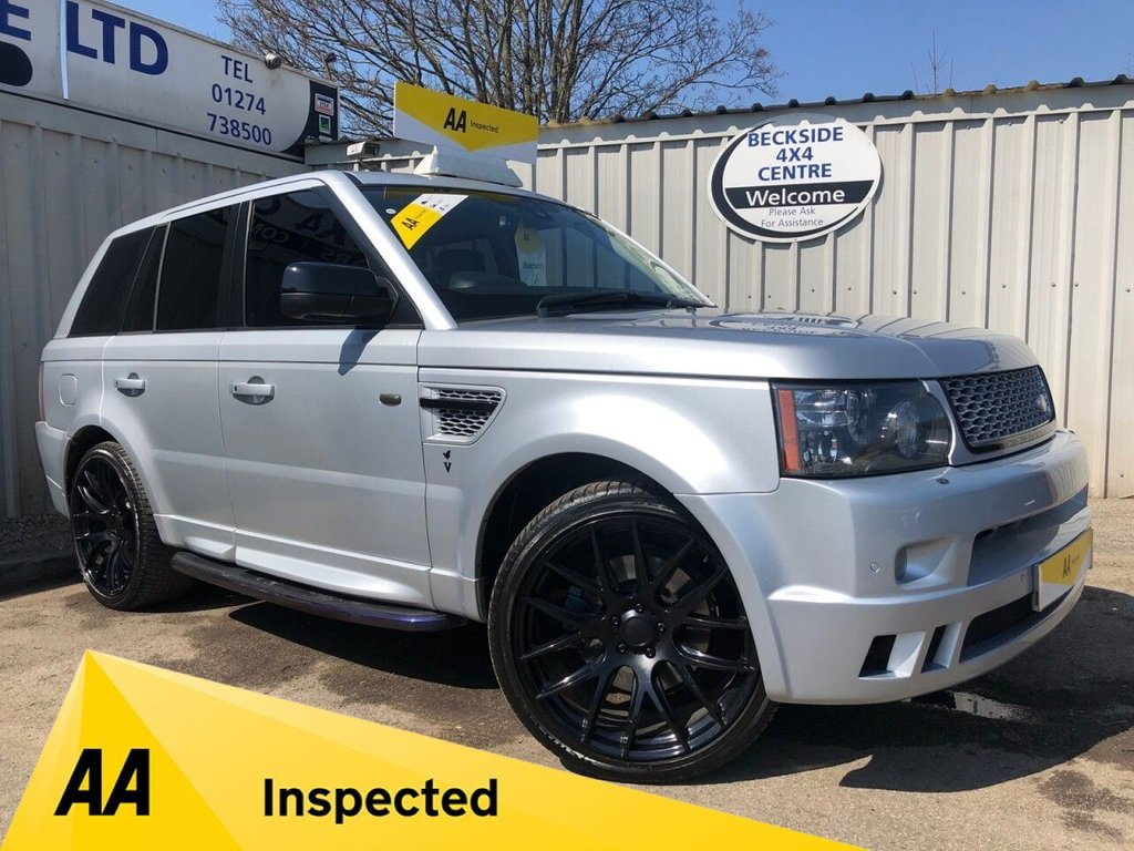 USED 2010 59 LAND ROVER RANGE ROVER SPORT 3.0 TDV6 HSE 5d 245 BHP VEMIRI EDITION AA INSPECTED. FINANCE. WARRANTY. VEMIRI EDITION
