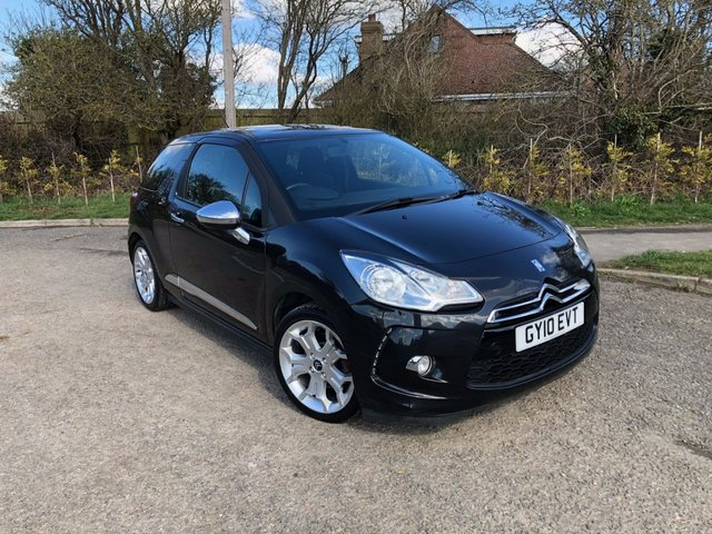 USED 2010 10 CITROEN DS 1.6 DSTYLE 3d 120 BHP *CITROEN DS3 STANDS OUT IN THE UPMARKET SUPERMINI MARKET*